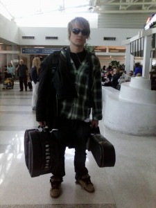 P@ulE at the Airport